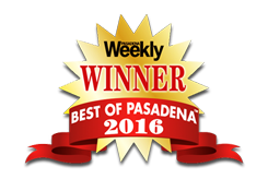 Best of Pasadena 2016 Award Seal